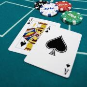 blackjack table cartes
